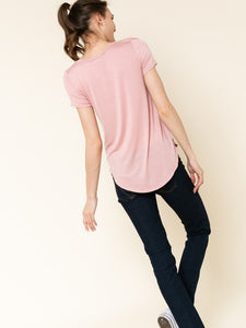 Champagne Pink Silk Touch T