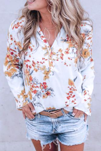 Celestial White Blouse