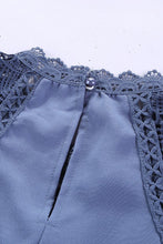 Load image into Gallery viewer, Blue Lace Blouse