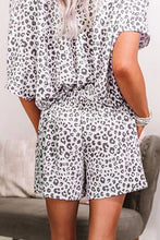Load image into Gallery viewer, White Cheetah Pajamas