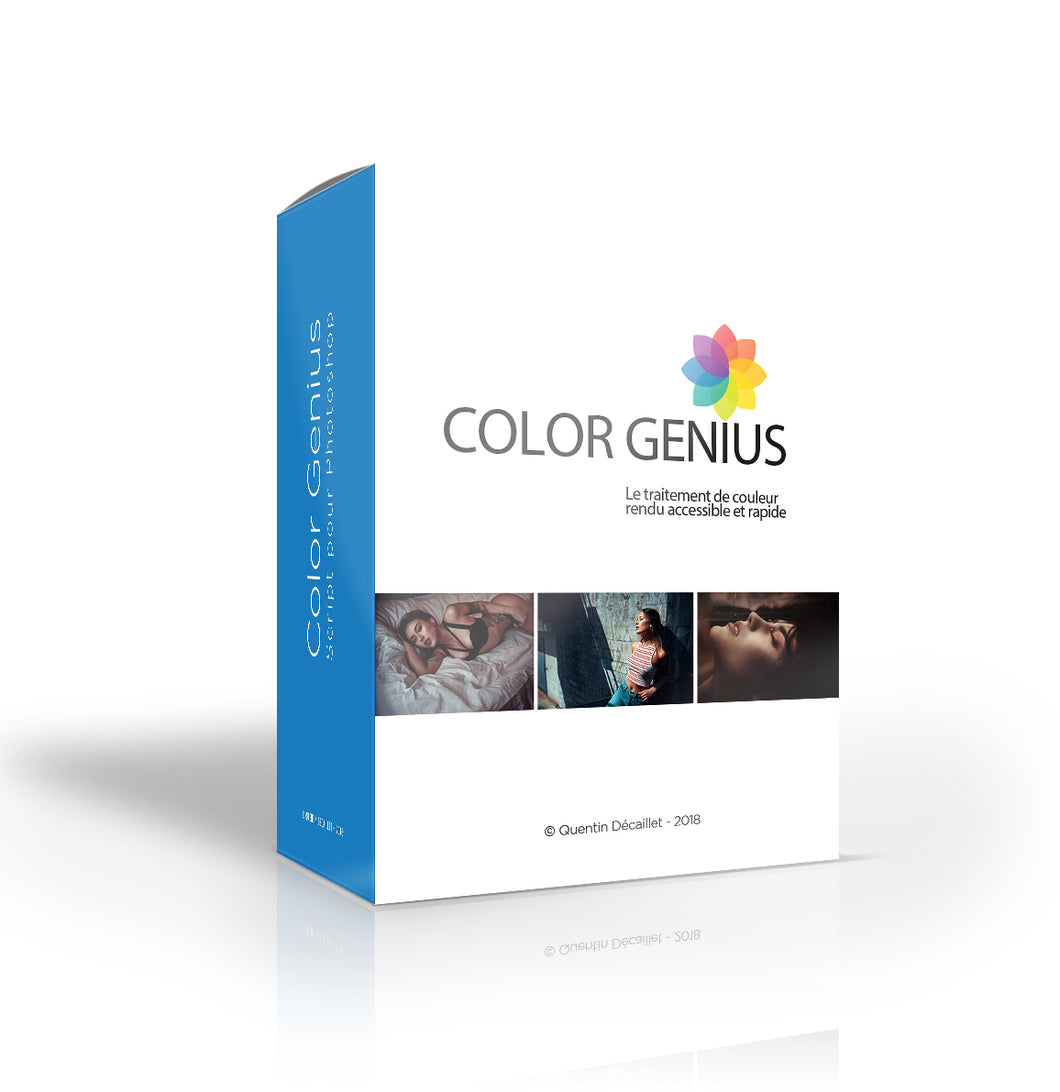 Color Genius - Script pour Photoshop