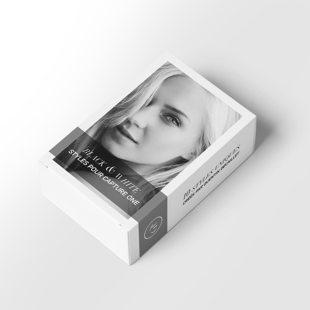 Black and White - Capture One Styles Pack