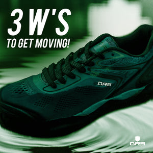3 W's to get Moving!