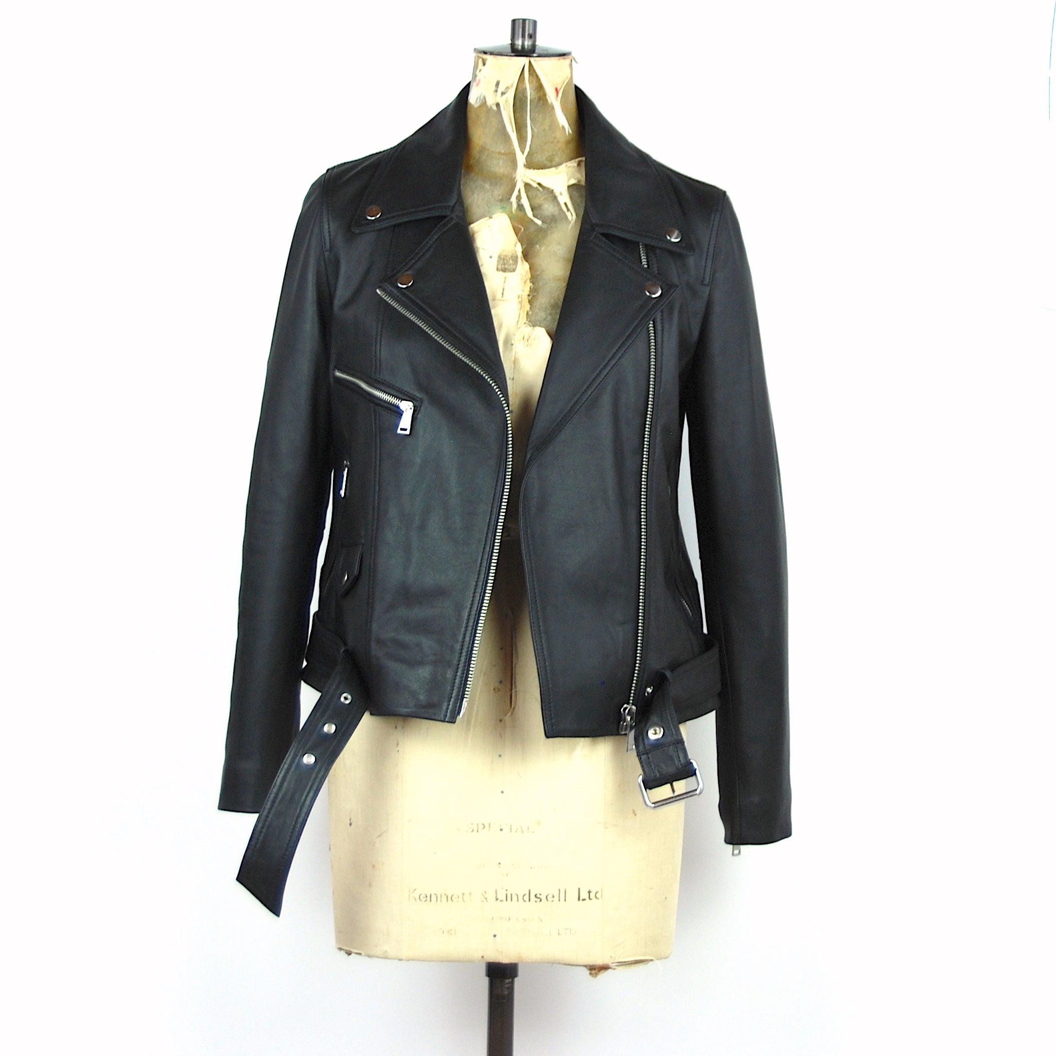 "The ""Do you still love me"" boyfriend biker jacket"