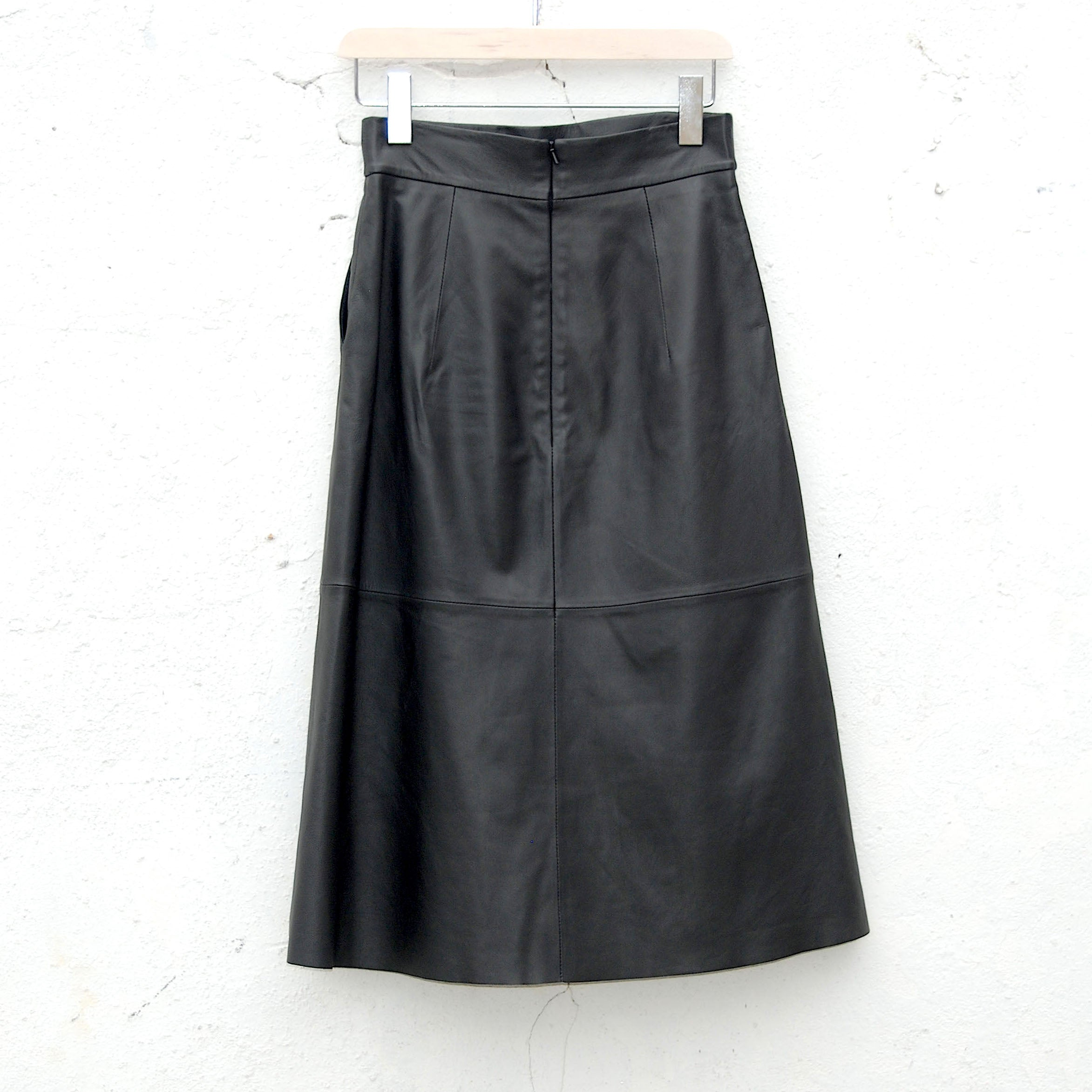 "The ""How sweet it is"" wrap midi skirt"