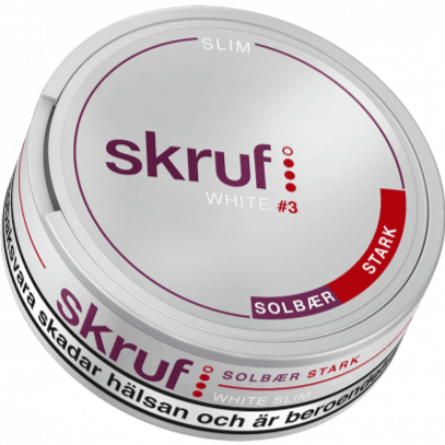 Skruf Slim Black Currant White