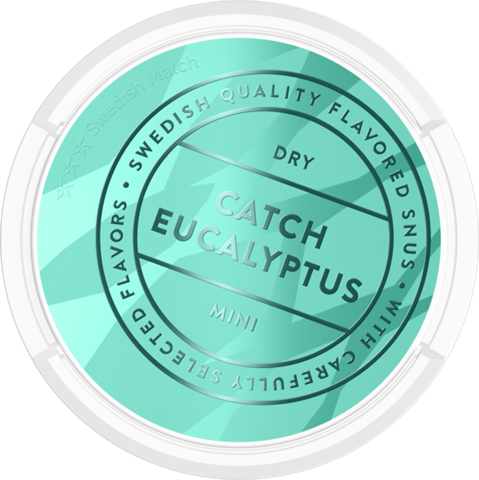 Catch Dry Eucalyptus White Portion Mini