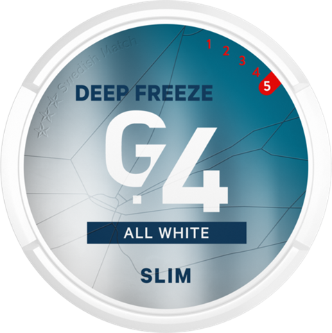 G.4 DEEP FREEZE All White Slim