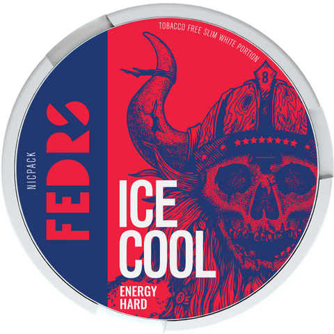 FEDRS Ice Cool Energy Hard 8