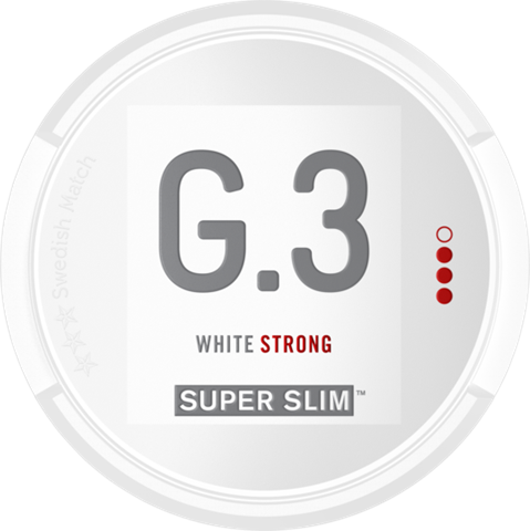 General G.3 Super Slim Strong White Portion