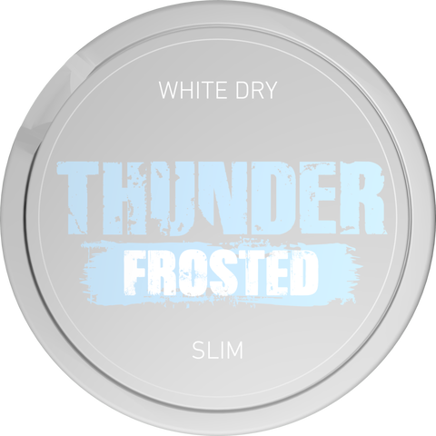 Thunder Frosted Slim White Dry