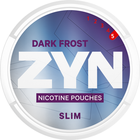 ZYN Dark Frost Slim Super Strong