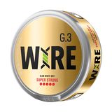 General G.3 WIRE Slim White Dry Super Strong Portion