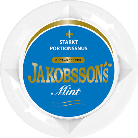 Jakobssons Mint Strong Portion