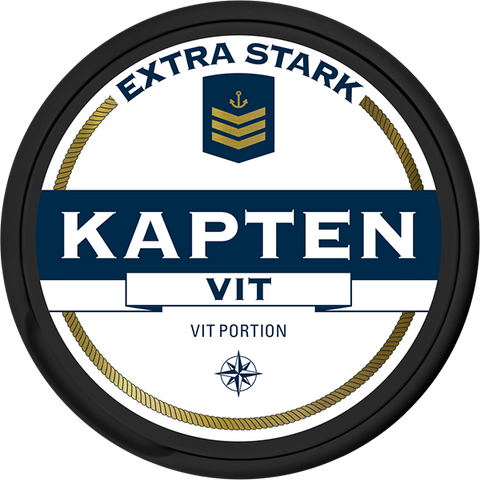 Kapten White Extra Strong Portion