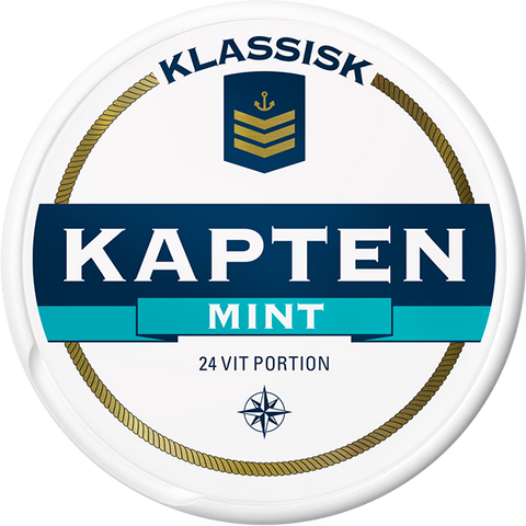 Kapten White Mint Portion