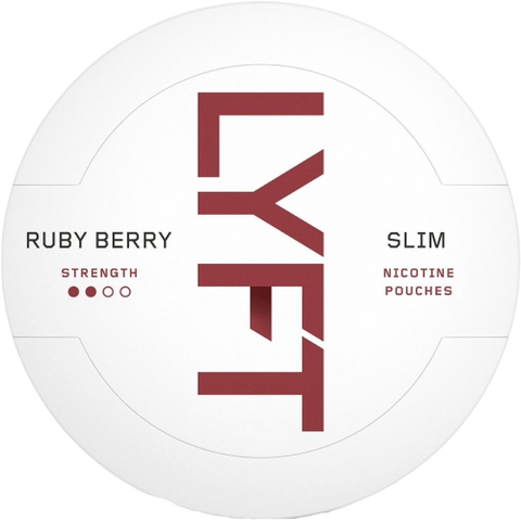 LYFT Ruby Berry Slim All White Portion