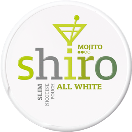 Shiro Mojito Slim All White Portion