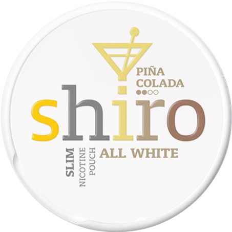 Shiro Pina Colada Slim All White Portion