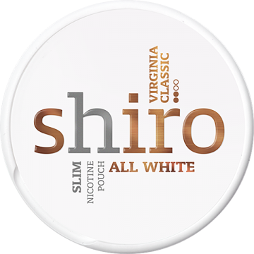 Shiro Virginia Classic All White portion
