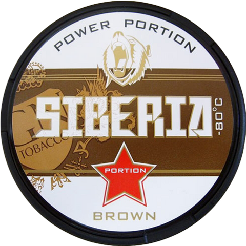 Siberia -80 Degrees Brown Portion 20g
