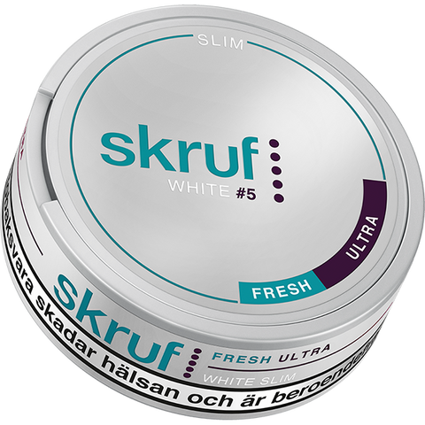 Skruf Slim Fresh Ultra Strong White Portion