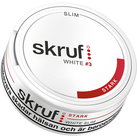 Skruf Slim Strong White Portion