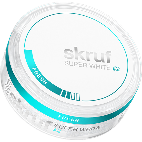 Skruf Super White Slim Fresh #2