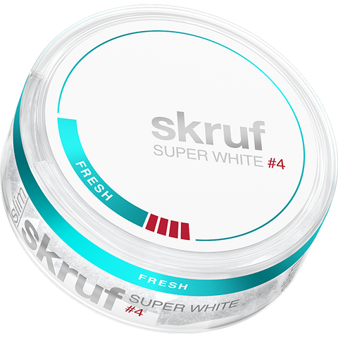 Skruf Super White Slim Fresh Strong #4