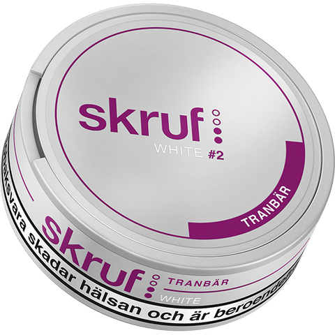 Skruf Cranberry White Portion