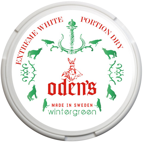 Odens Wintergreen Extreme White Dry Portion 16g