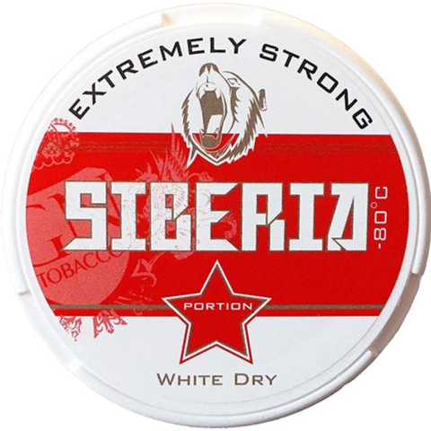 Siberia -80 Degrees White Dry Portion
