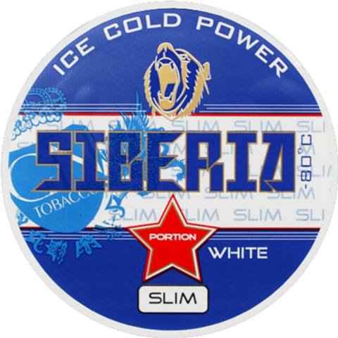 Siberia White Slim Portion