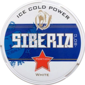 Siberia -80 degrees White Portion 20g