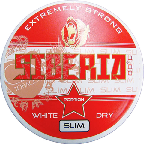 Siberia -80°C White Dry Slim Portion