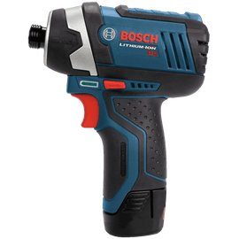 Bosch CLPK27-120 12-Volt Max Lithium-Ion 2-Tool Combo Kit Drill Driver and Impact Driver with 2 Batteries Charger and Case