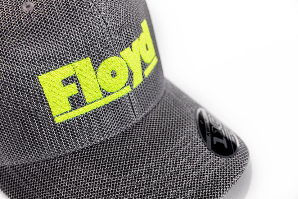 Floyd Baseball Cap - Curb Grey Neon