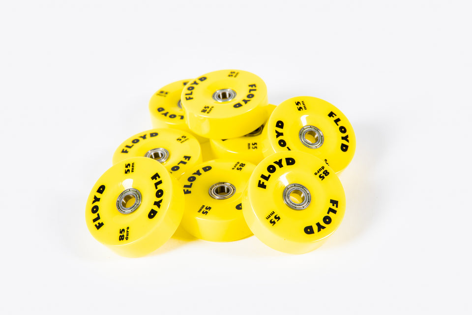Floyd Wheel Set - Speed Yellow
