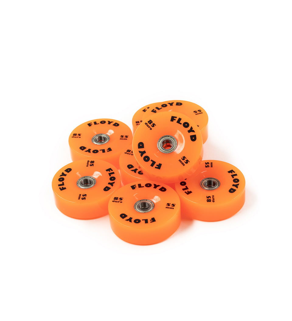 Floyd Wheel Set - Kickin Orange