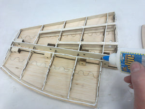 LA-7 RC Airplane Kit of Balsa-Plywood