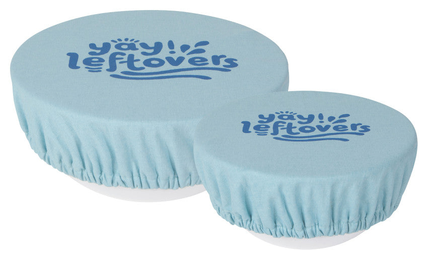 Reusable Washable Bowl Covers - Set of 2 - Hello World