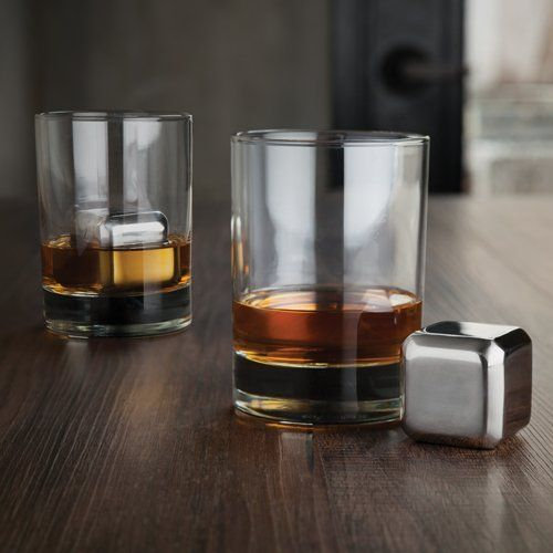 Stainless Steel Waterless Ice Cubes - Hello World