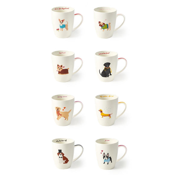 Dog Mug with Gift Box (assorted)