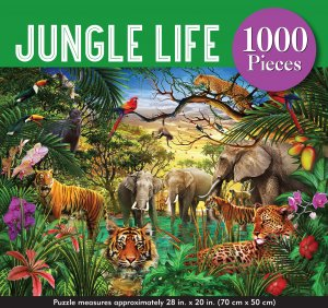 JUNGLE LIFE PUZZLE - Hello World