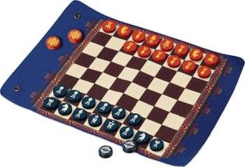 Pendleton Chess & Checkers 'Travel-Ready Roll-Up Game'
