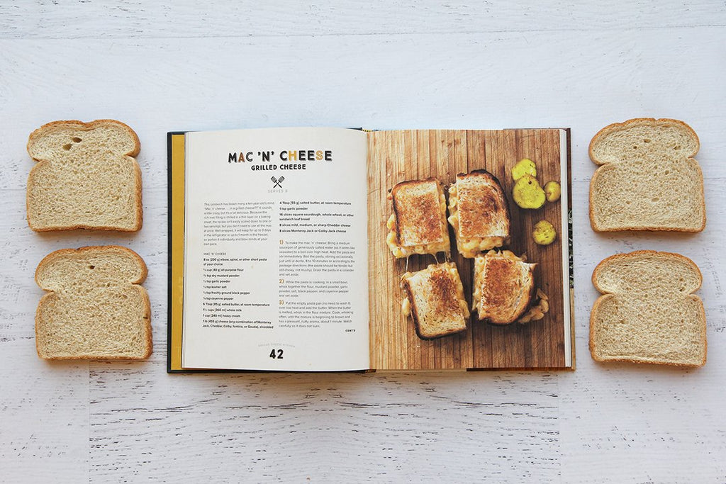 Grilled Cheese Kitchen 'Bread + Cheese + Everything in Between' - Hello World