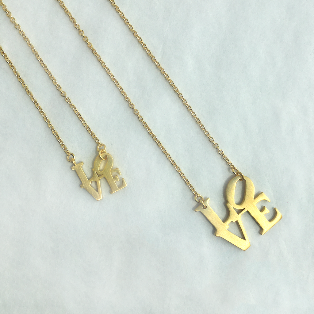 Philly LOVE Necklace - Hello World