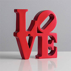LOVE Sign Decorative Statue - Hello World