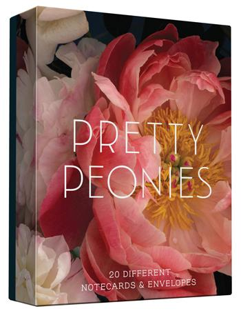 Pretty Peony Notes Set (20 per set) - Hello World