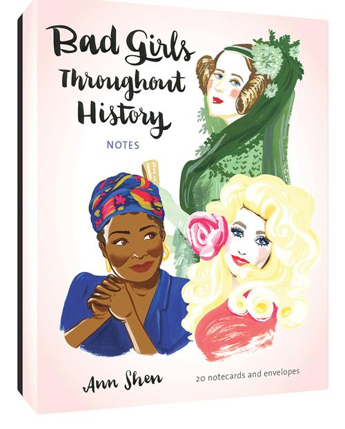 Bad Girls Throughout History Notecards Set (20 per set) - Hello World